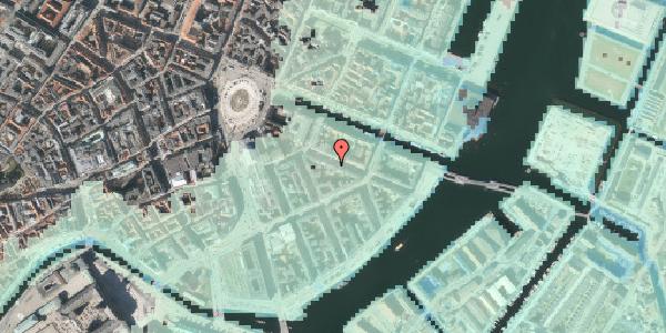 Stomflod og havvand på Herluf Trolles Gade 10, st. th, 1052 København K