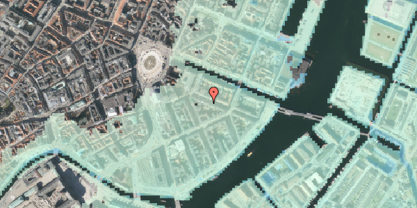 Stomflod og havvand på Herluf Trolles Gade 10, 3. tv, 1052 København K