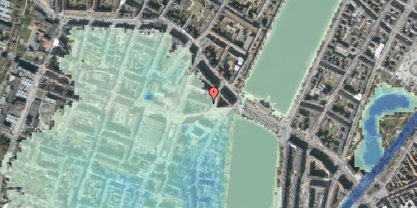 Stomflod og havvand på Herman Triers Plads 1, 1. 4, 1631 København V