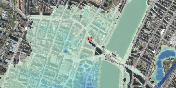 Stomflod og havvand på Herman Triers Plads 2K, 1631 København V