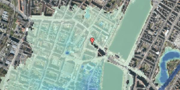Stomflod og havvand på Herman Triers Plads 2M, 1631 København V