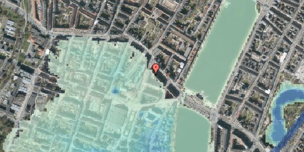 Stomflod og havvand på Herman Triers Plads 2S, 1631 København V