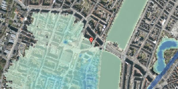Stomflod og havvand på Herman Triers Plads 3, 2. 1, 1631 København V
