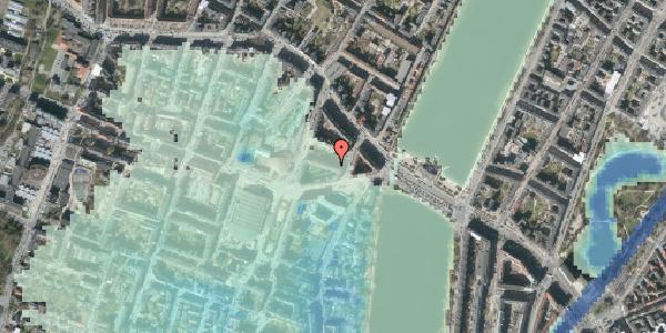 Stomflod og havvand på Herman Triers Plads 3, 2. 2, 1631 København V