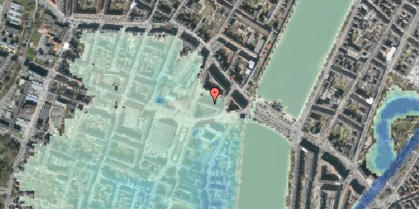 Stomflod og havvand på Herman Triers Plads 5, 2. 4, 1631 København V