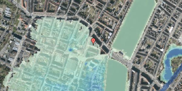 Stomflod og havvand på Herman Triers Plads 6, 5. tv, 1631 København V