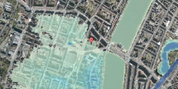 Stomflod og havvand på Herman Triers Plads 7, 3. tv, 1631 København V