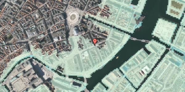 Stomflod og havvand på Holbergsgade 9, 1. tv, 1057 København K