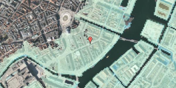 Stomflod og havvand på Holbergsgade 11, kl. tv, 1057 København K