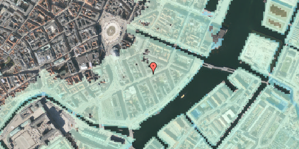 Stomflod og havvand på Holbergsgade 11, st. tv, 1057 København K