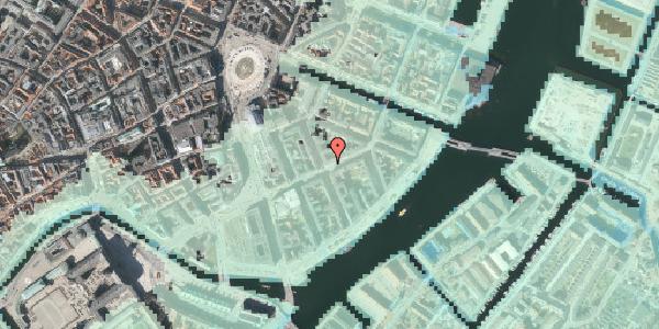 Stomflod og havvand på Holbergsgade 11, 3. tv, 1057 København K
