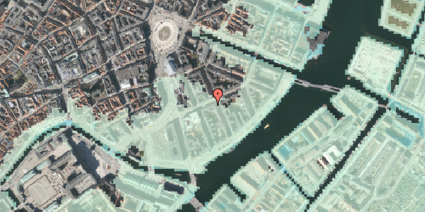 Stomflod og havvand på Holbergsgade 12, 4. th, 1057 København K