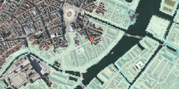 Stomflod og havvand på Holbergsgade 12, 4. tv, 1057 København K