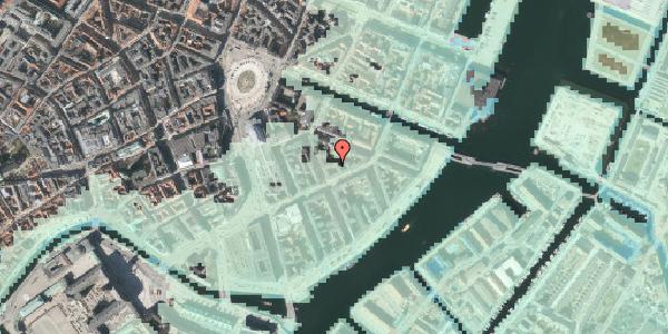 Stomflod og havvand på Holbergsgade 13A, 1. , 1057 København K
