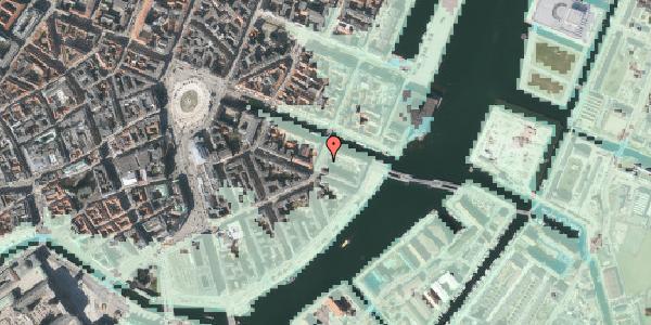 Stomflod og havvand på Holbergsgade 28A, 1. tv, 1057 København K