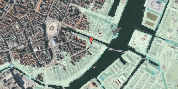 Stomflod og havvand på Holbergsgade 28, kl. 4, 1057 København K