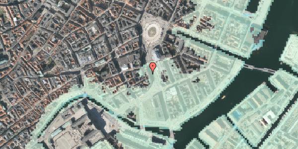 Stomflod og havvand på Holmens Kanal 2, 2. , 1060 København K