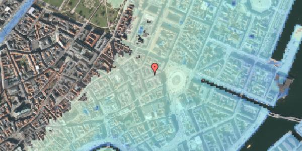 Stomflod og havvand på Hovedvagtsgade 6, 3. tv, 1103 København K