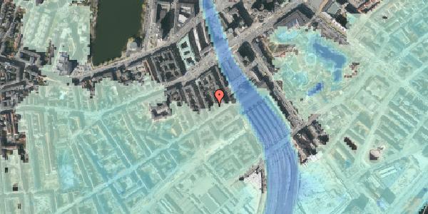 Stomflod og havvand på Istedgade 8A, 1650 København V