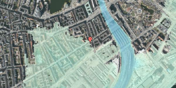 Stomflod og havvand på Istedgade 13, 1. th, 1650 København V