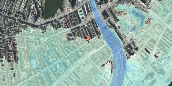 Stomflod og havvand på Istedgade 14, 4. , 1650 København V