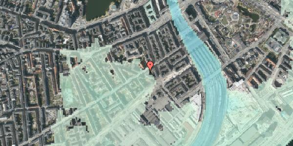 Stomflod og havvand på Istedgade 15, kl. th, 1650 København V