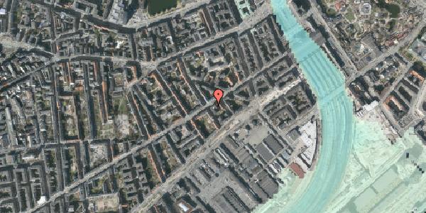 Stomflod og havvand på Istedgade 23, 4. tv, 1650 København V