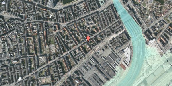 Stomflod og havvand på Istedgade 25, 1. tv, 1650 København V