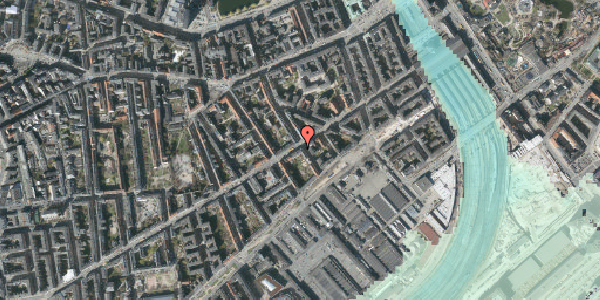 Stomflod og havvand på Istedgade 25, 4. tv, 1650 København V