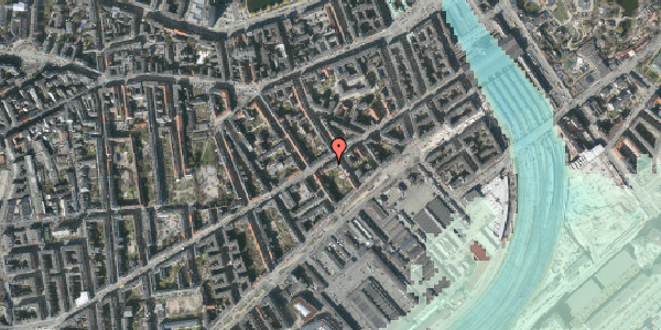 Stomflod og havvand på Istedgade 27, 4. tv, 1650 København V