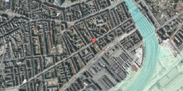 Stomflod og havvand på Istedgade 29B, 1. th, 1650 København V