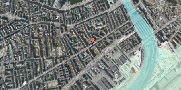 Stomflod og havvand på Istedgade 36, 2. th, 1650 København V