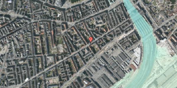 Stomflod og havvand på Istedgade 38, 1. tv, 1650 København V