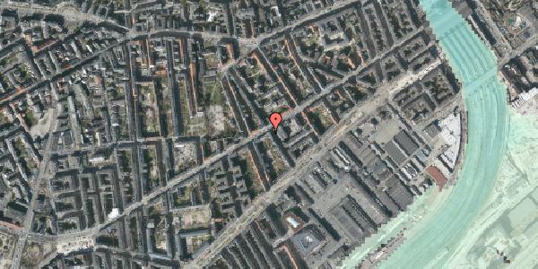 Stomflod og havvand på Istedgade 39, 1. , 1650 København V