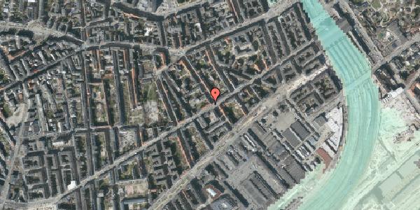 Stomflod og havvand på Istedgade 40B, 2. 3, 1650 København V