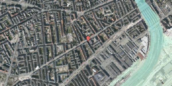 Stomflod og havvand på Istedgade 41, 3. tv, 1650 København V
