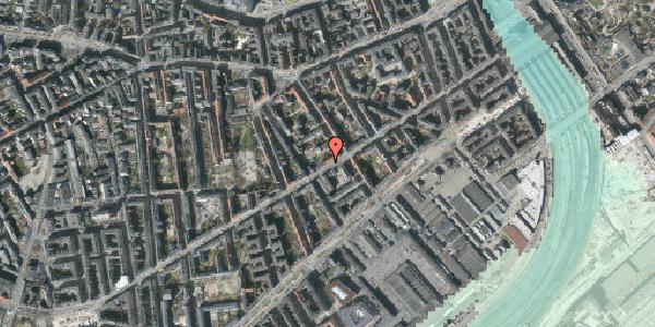 Stomflod og havvand på Istedgade 42A, 1. th, 1650 København V
