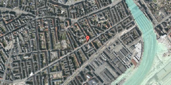 Stomflod og havvand på Istedgade 42B, 1. , 1650 København V