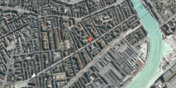 Stomflod og havvand på Istedgade 44, 4. , 1650 København V