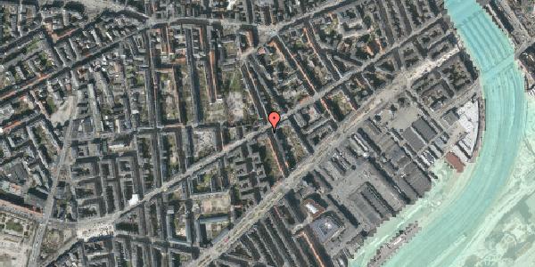 Stomflod og havvand på Istedgade 47, 1. , 1650 København V