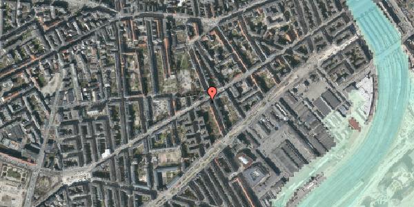 Stomflod og havvand på Istedgade 49, 5. , 1650 København V