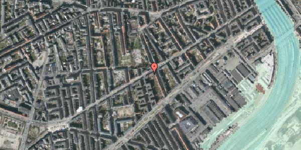 Stomflod og havvand på Istedgade 51B, 3. tv, 1650 København V
