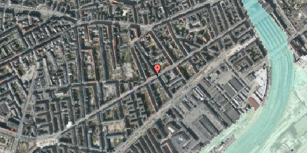 Stomflod og havvand på Istedgade 54, 1. tv, 1650 København V