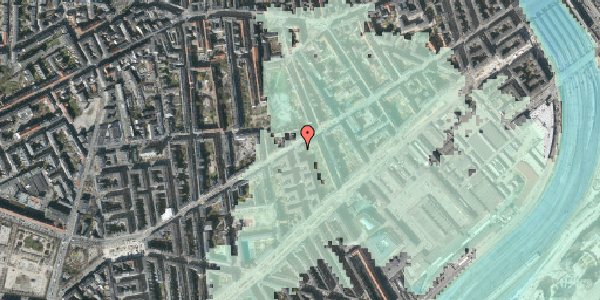 Stomflod og havvand på Istedgade 55, st. th, 1650 København V