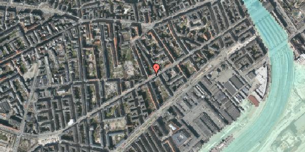 Stomflod og havvand på Istedgade 56C, 1650 København V