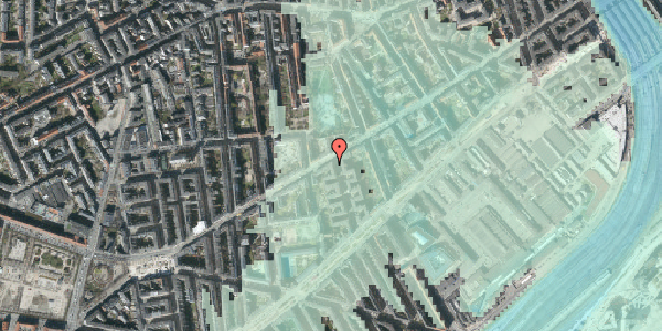 Stomflod og havvand på Istedgade 57, 2. th, 1650 København V