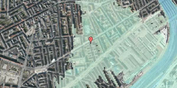 Stomflod og havvand på Istedgade 57, 3. th, 1650 København V
