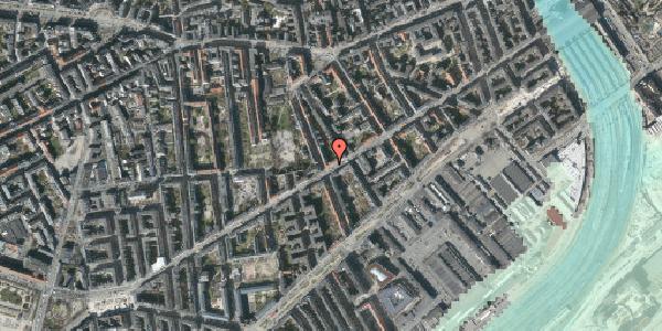 Stomflod og havvand på Istedgade 58, st. 3, 1650 København V