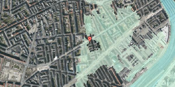 Stomflod og havvand på Istedgade 61, st. 2, 1650 København V