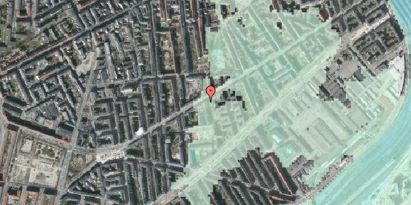 Stomflod og havvand på Istedgade 65, 4. , 1650 København V